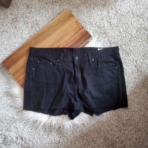 Rag & Bone Black Shorts